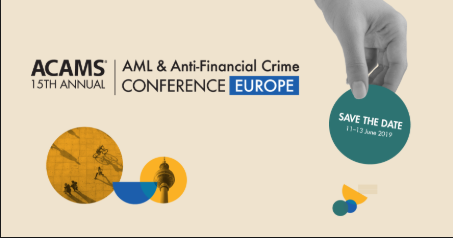 ACAMS 15th Annual AML & Anti-Financial Crime Conference - Europe
